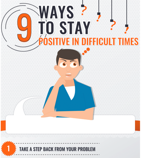 9 Ways To Stay Positive