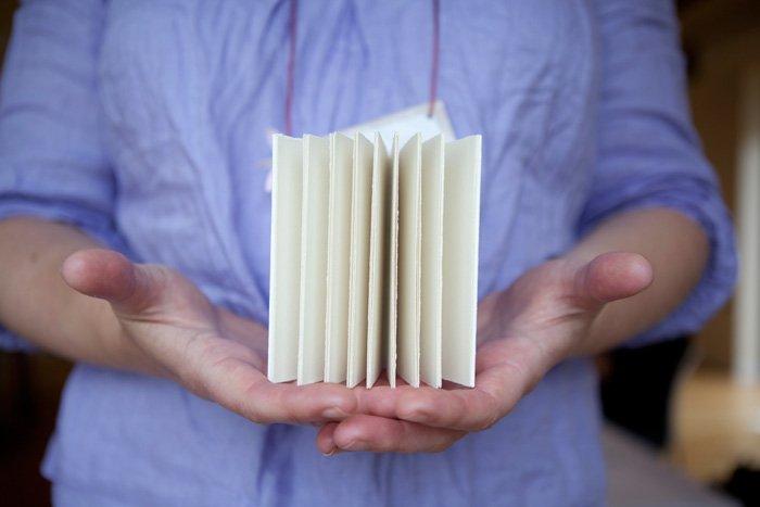 handmade book (Image: NavyBlur)