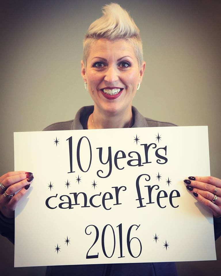 Heather Von St. James - 10 years cancer free