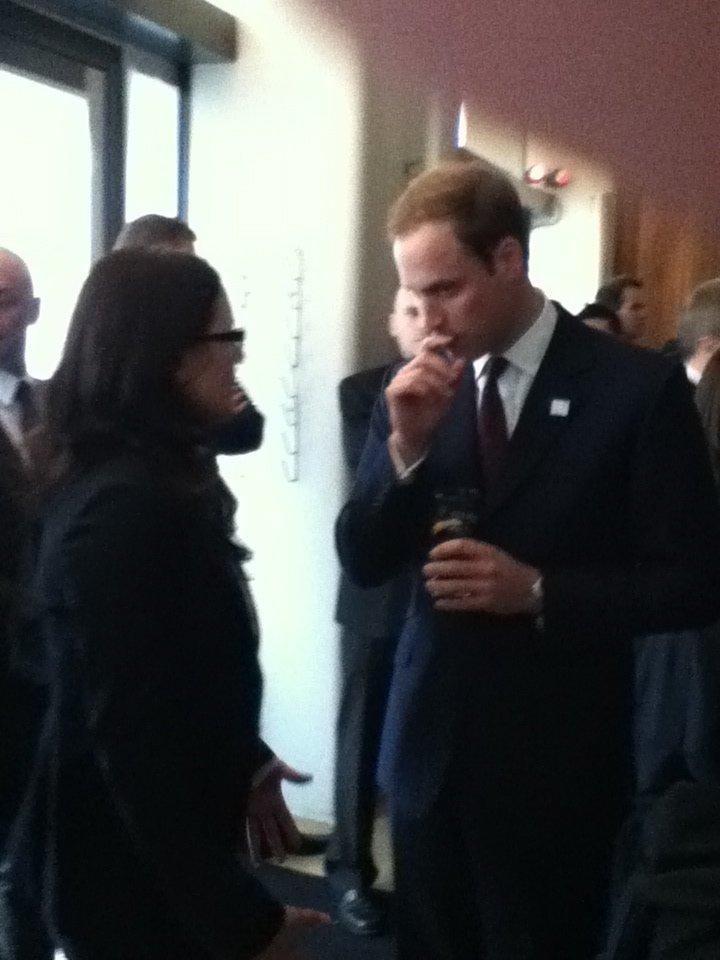 Meeting Prince William