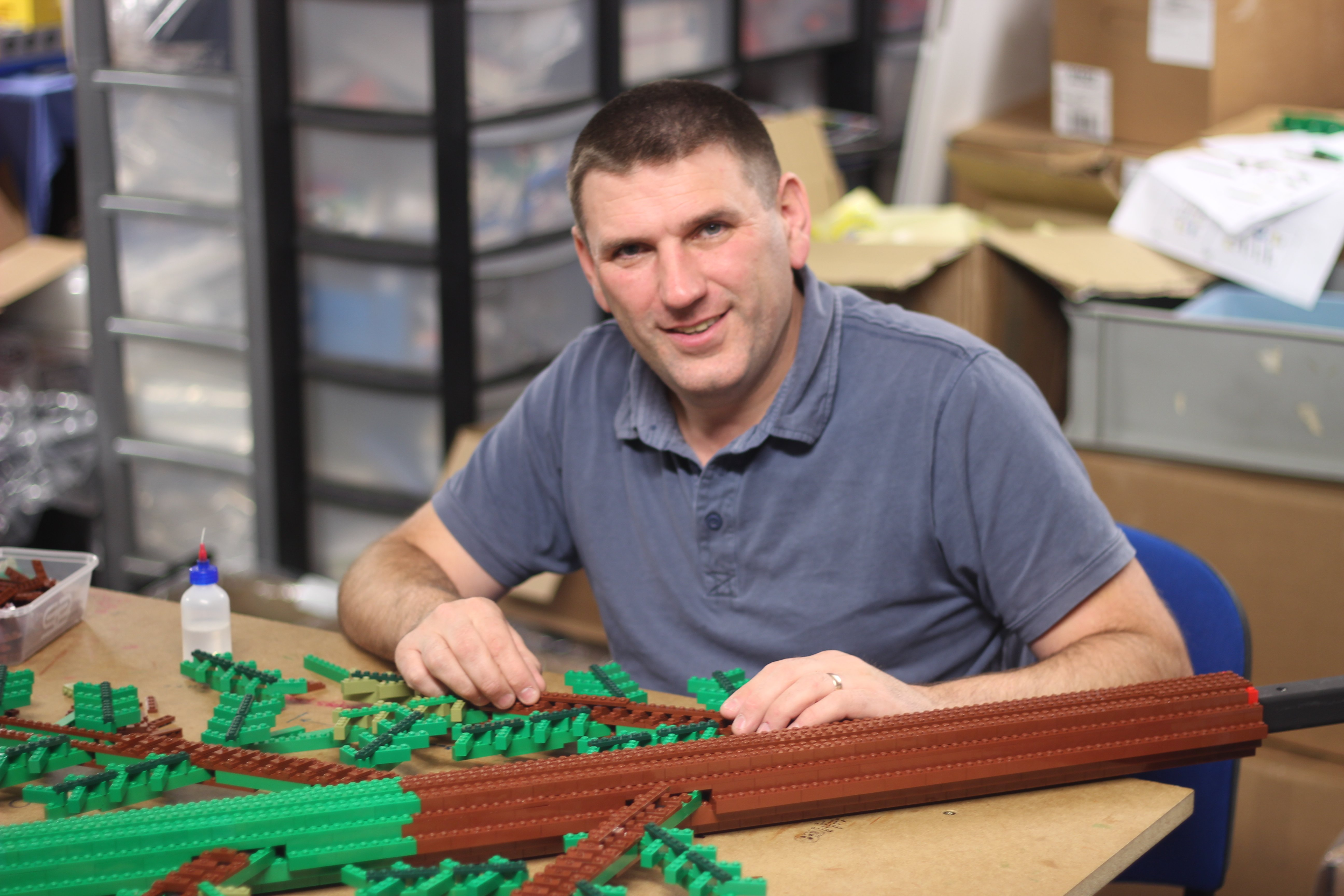 UK's only Lego Certified Professional Duncan Titmarsh