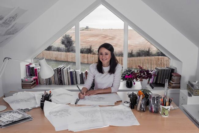 Do What You Love interview – Johanna Basford + a FREE page