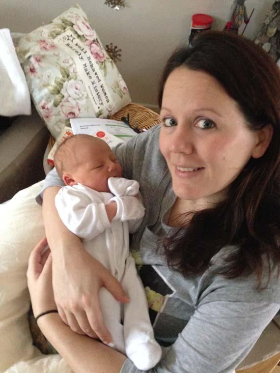 Mummy and Sienna