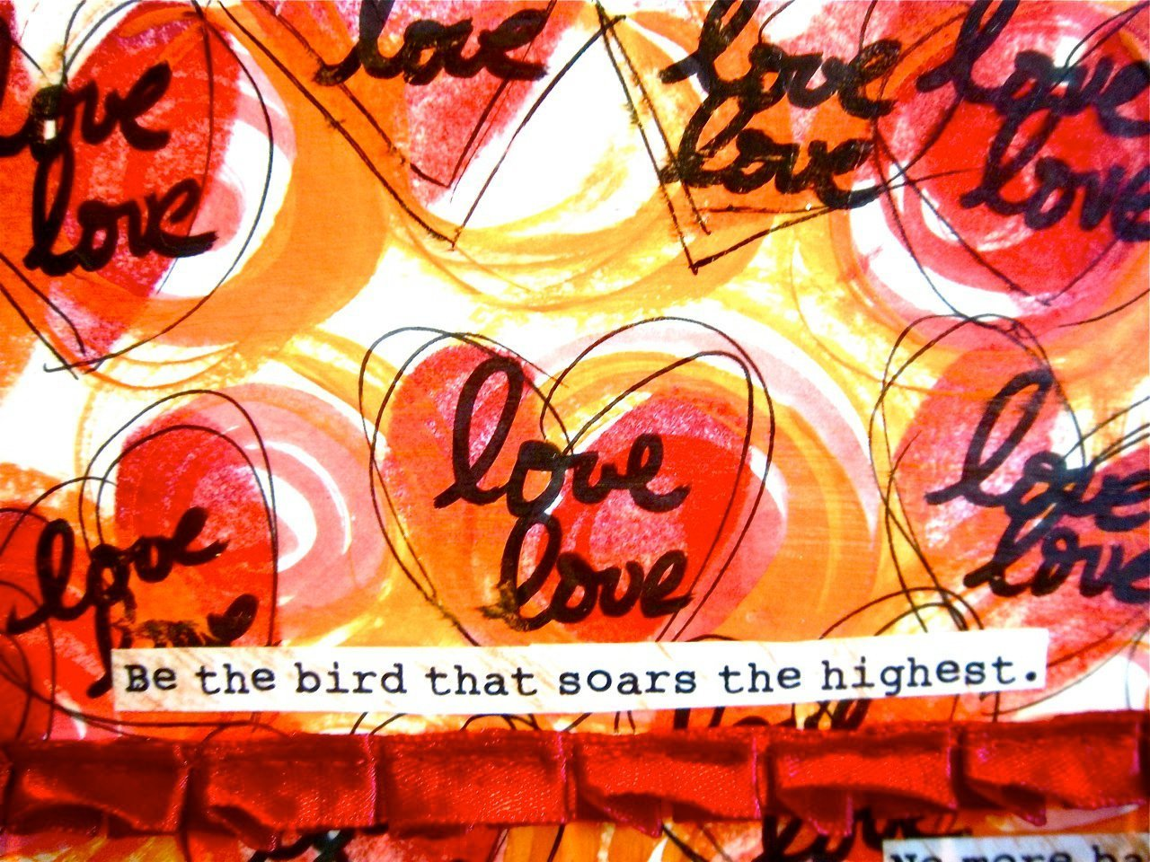 The bird that soars the highest