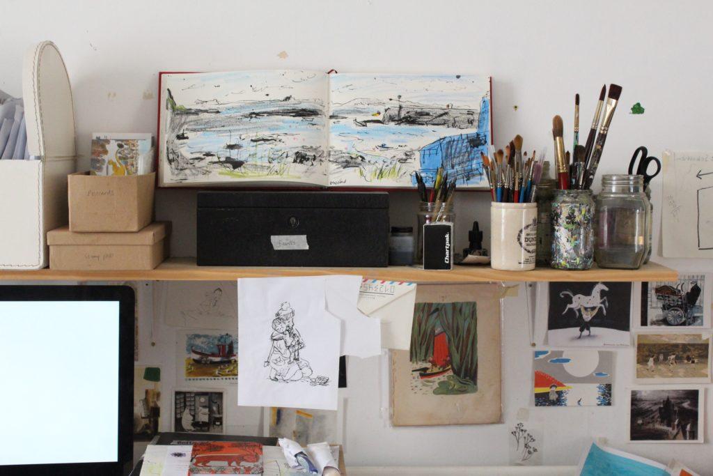 sketchbookathelen'sdesk